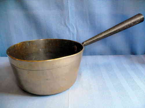 Saucepan antique brass