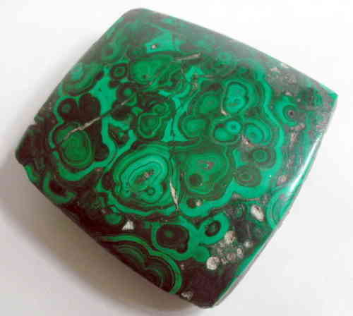 Unusual malachite deskweight
