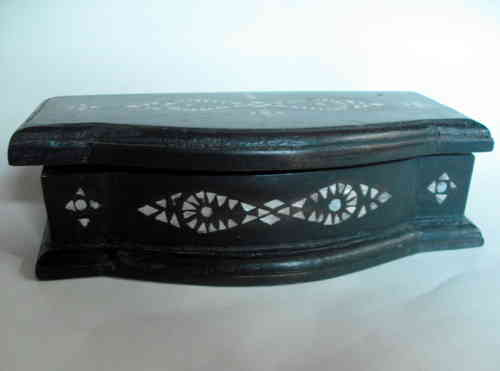 Wood and abalone box