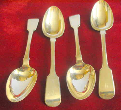 John Gilbert antique spoons