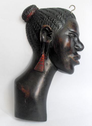 African wall plaque