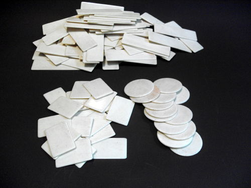 Assorted games counters