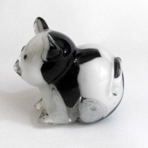 White / black animal deskweight