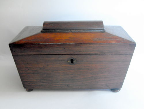 Sarcophagus tea caddy 4 restn