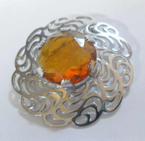 Mizpah brooch Scottish style