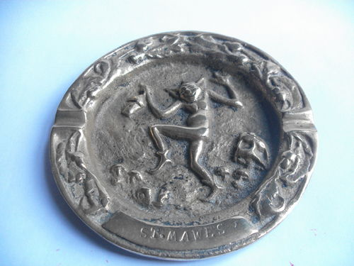 Heavy St Mawes Pixie coin dish