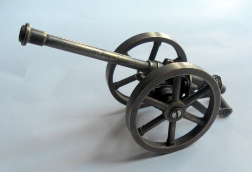 Brass mini replica cannon