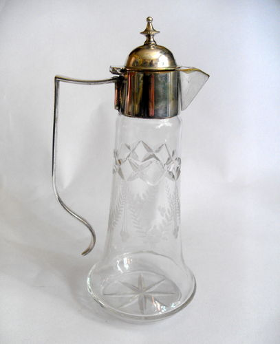 Small Bachelors claret jug