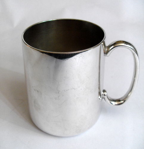 Small plated tankard