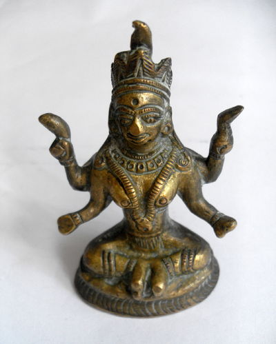 Indian deity figure