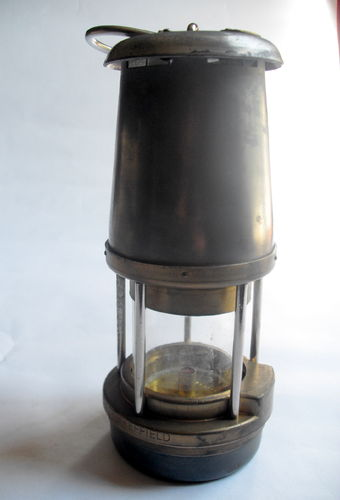 1970s Wolf Safety Lamp