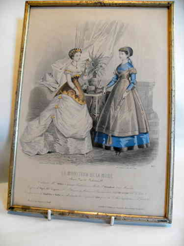 Jules David fashion engraving
