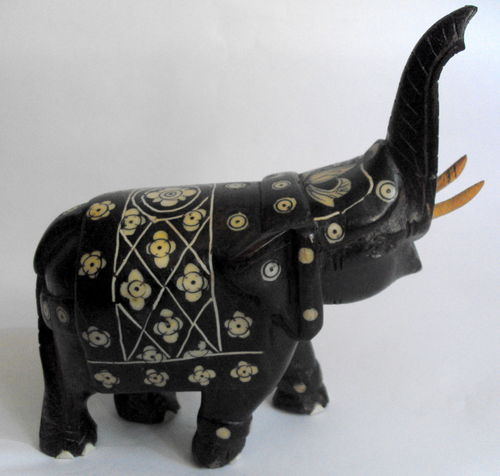 Carved Cauvery elephant