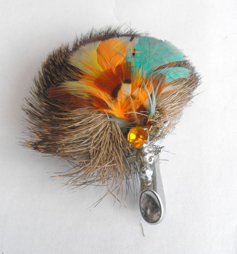 Scottish plume brooch 02