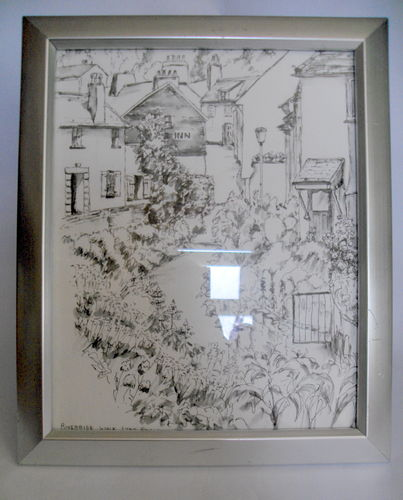 Original sketch Lyme Regis