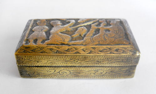 Assyrian design snuff box