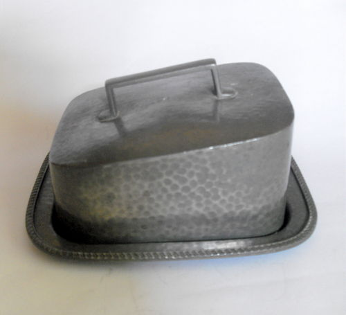 Manor Period Pewter Cheese Dish